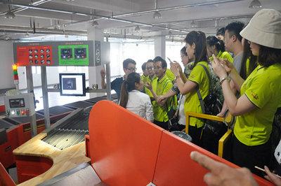 西北大学EMBA师生代表团考察空港新城