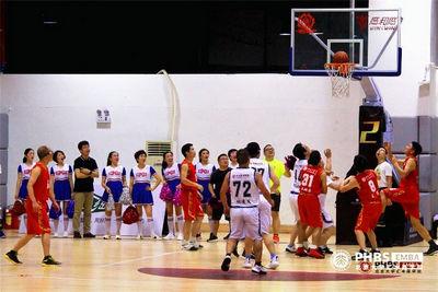 北大汇丰EMBA17级vs18级篮球友谊赛