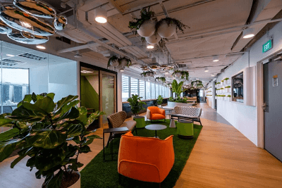 共享办公空间新品牌O2WORK落地新加坡