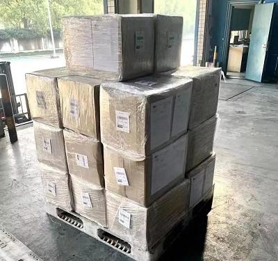 马来西亚捐赠物资顺利抵达上海浦东国际机场