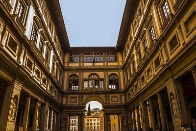 意大利乌非兹美术馆外观