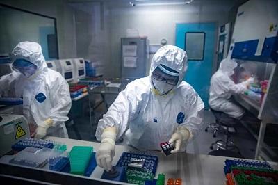 金域医学总部的实验室日检测产能可达4.6万份