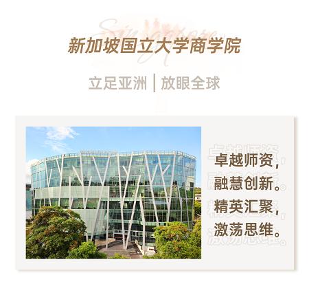 新加坡国立大学商学院简介